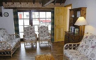 The Byre - Living Room
