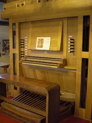 Music Room Organ console